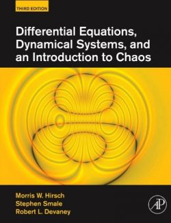 Differential Equations – Morris W. Hirsch – 3rd Edition