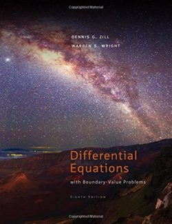 Differential Equations with Boundary-Value Problems - Dennis G. Zill - 8th Edition 20