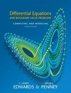 Differential Equations and Boundary Value Problems - Edwards & Penney – 4th Edition 21