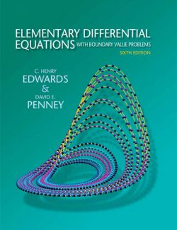 Elementary Differential Equations with Boundary Value Problems - Edwards, Penney - 6th Edition 27