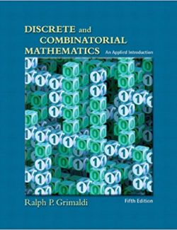 Discrete and Combinatorial Mathematics: An Applied Introduction – Ralph P. Grimaldi – 5th Edition