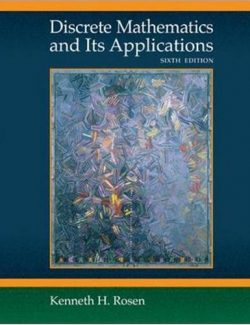 Discrete Mathematics and Its Applications – Kenneth H. Rosen – 6th Edition