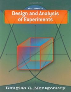 Design and Analysis of Experiments – Montgomery – 6th Edition