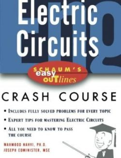 Electric Circuits (Schaum) – Mahmood Nahvi, Joseph A. Edminister – 4th Edition