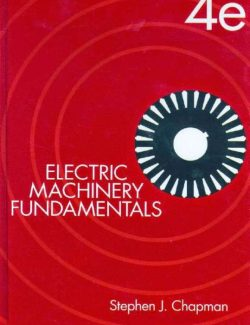 Electric Machinery Fundamentals – Stephen Chapman – 4th Edition