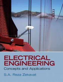 Electrical Engineering: Concepts & Applications – S.A. Zekavat – 1st Edition