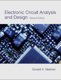 Electronic Circuit Analysis and Design – Donald A. Neamen – 2nd Edition