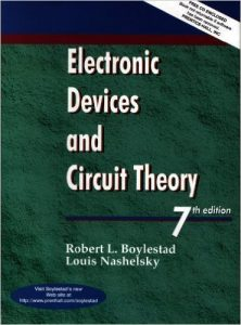 Electronic Devices and Circuit Theory – Robert Boylestad – 7th Edition