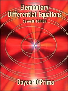 Elementary Differential Equations – Boyce, DiPrima – 7th Edition