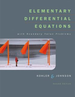 Elementary Differential Equations – W. Kohler, L. Johnson – 2nd Edition