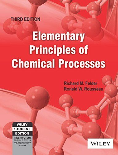 Pdf  Introductory Elements Of The Chemical Process