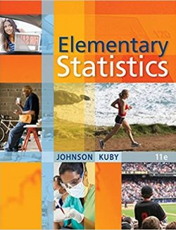 Elementary Statistics - R. Johnson, P. Kuby - 11th Edition 24