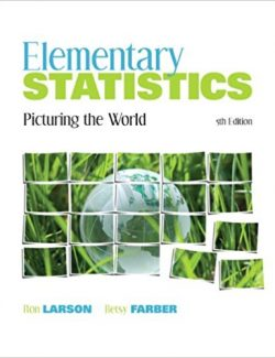Elementary Statistics - Ron Larson, Betsy Farber - 5th Edition 25