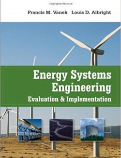 Energy Systems Engineering – Francis Vanek – 1st Edition