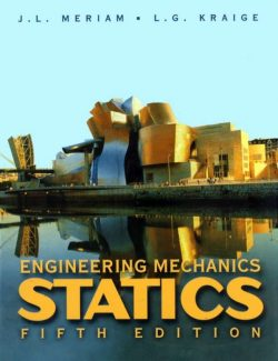 Engineering Mechanics: Statics - J. L. Meriam, L. G. Kraige - 5th Edition 24