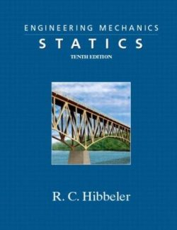 Engineering Mechanics: Statics – Russell C. Hibbeler – 10th Edition