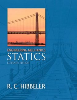 Engineering Mechanics: Statics – Russell C. Hibbeler – 11th Edition