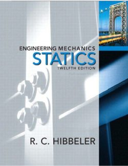 Engineering Mechanics: Statics – Russell C. Hibbeler – 12th Edition
