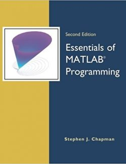 Essentials of MATLAB Programming – Stephen J. Chapman – 2nd Edition