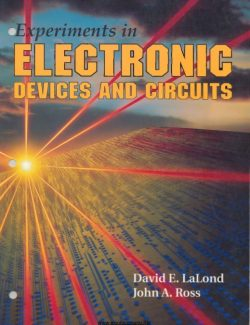 Principles of Electronic Devices and Circuits – David E. Lalond – 1st Edition