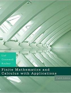 Finite Mathematics - Lial, Greenwell, Ritchey - 8th Edition 20