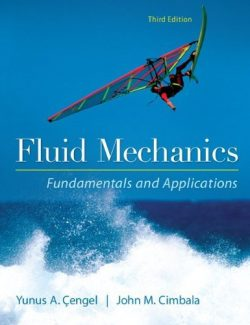 Fluid Mechanics Fundamentals and Applications – Yunus Cengel – 3rd Edition