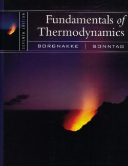 Fundamentals of Thermodynamics – Borgnakke, Sonntag – 7th Edition