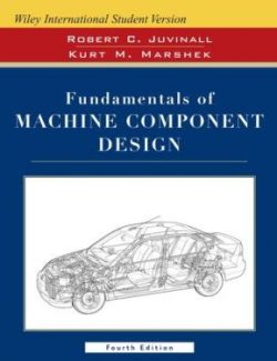 Fundamentals of Machine Component Design – R. Juvinall, K. Marshek – 1st Edition