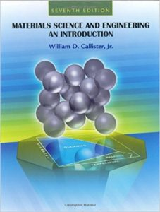 Materials Science and Engineering an Introduction – William D. Callister – 7th Edition