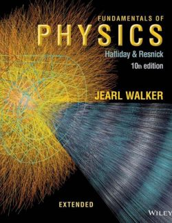 Fundamentals of Physics Extended - Halliday & Resnick, Walker - 10th edition 20