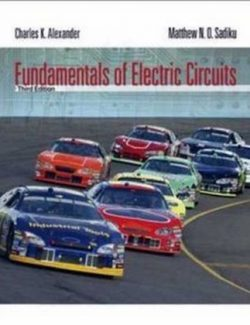 Fundamental of Electric Circuits – Charles Alexander, Matthew Sadiku – 3rd Edition