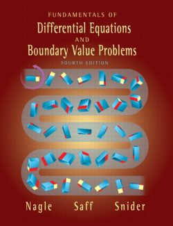 Fundamentals of Differential Equations and Boundary Value Problems- R. Nagle, E. Saff, D. Snider - 4th Edition 28