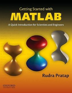 Getting Started with MATLAB – Rudra Pratap – 1st Edition