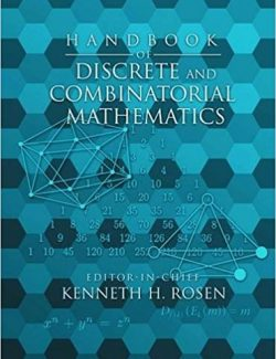 Handbook of Discrete and Combinatorial Mathematics – Kenneth Rosen – 2nd Edition