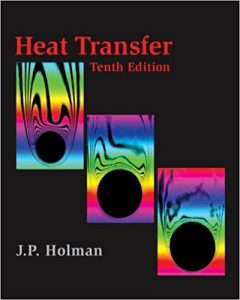 Heat Transfer – J. P. Holman – 10th Edition