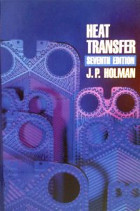 Heat Transfer – J. P. Holman – 6th Edition