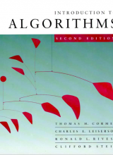 Introduction to Algorithms - Cormen, Leiserson, Revest, Stein - 2nd Edition 82