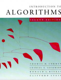 Introduction to Algorithms – Cormen, Leiserson, Revest, Stein – 2nd Edition