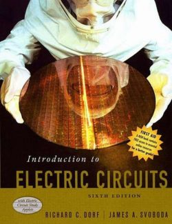 Introduction to Electric Circuits – Richard C. Dorf, James A. Svoboda – 6th Edition