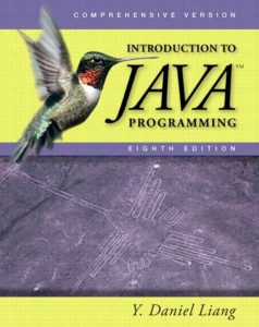 Introduction to Java Programming - Y. Daniel Liang - 8th Edition 21