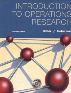 Operations Research – Hillier, Liberman – 7th Edition