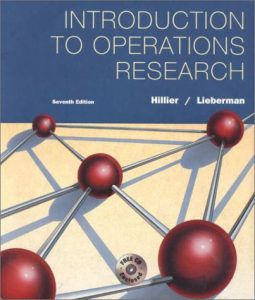 Introduction to Operations Research –  F. Hillier, G. Lieberman – 7th Edition