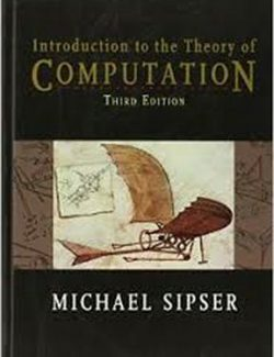 Introduction to the Theory of Computation – Michael Sipser – 1st Edition