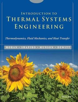 Introduction to Thermal Systems Engineering – Moran & Shapiro – 1st Edition