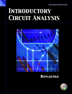 Introductory Circuit Analysis – Robert Boylestad – 11th Edition