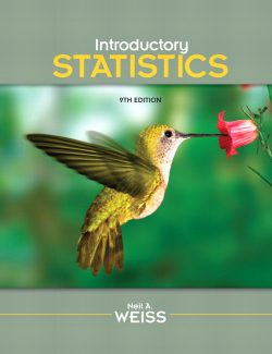 Introductory Statistics – Neil A. Weiss – 9th Edition
