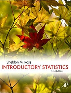 Introductory Statistics – Sheldon M. Ross – 3rd Edition