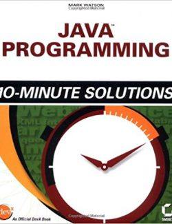 Java Programming 10-Minute – Mark Watson – 1st Edition