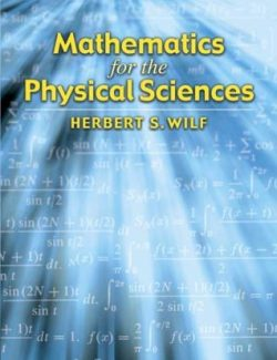 Mathematics for the Physical Sciences – Herbert S. Wilf – 1st Edition
