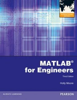 MATLAB for Engineers – Holly Moore – 3rd Edition